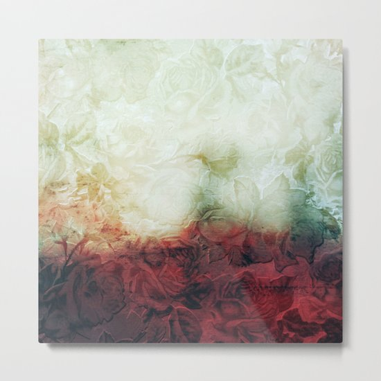 roses landscape Metal Print