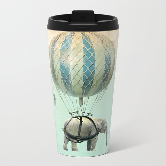 Jumbo Metal Travel Mug