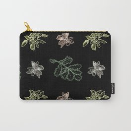 Quercus (black) Carry-All Pouch