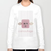 camouflage Long Sleeve T-shirts featuring Camouflage by fabiotir