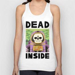 DEAD INSIDE Unisex Tank Top