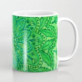 mandala of greenery Coffee Mug