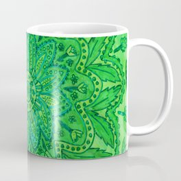 mandala of greenery Coffee Mug