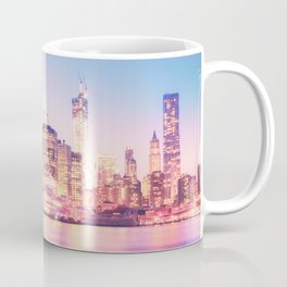 New York City Skyline - Lights Coffee Mug