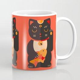Beckoning Cat Coffee Mug