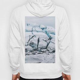 Glacial World of Iceland - Landscape Photography Hoody