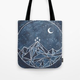 Night Court moon and stars Tote Bag