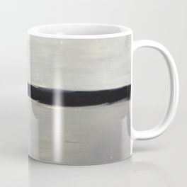 Grey with Black Stripe Coffee Mug