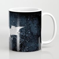 bat man Mugs featuring BAT MAN by Thorin