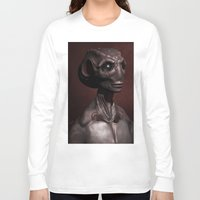 invader zim Long Sleeve T-shirts featuring Invader by Miranda Leek