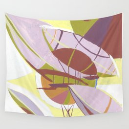 travel across the sky  Wall Tapestry