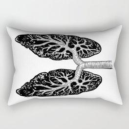 Corrupted Lungs Rectangular Pillow