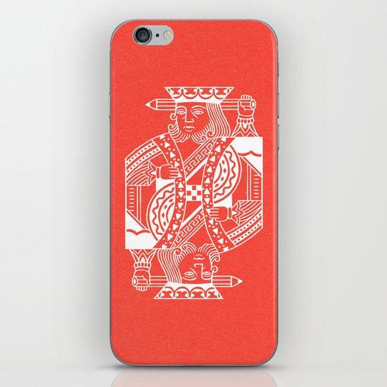 Creativity Is King iPhone & iPod Skin