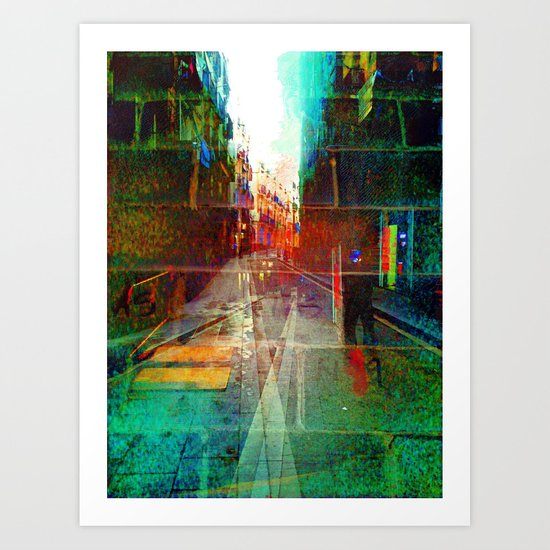 Roll overture ignition generation. Art Print