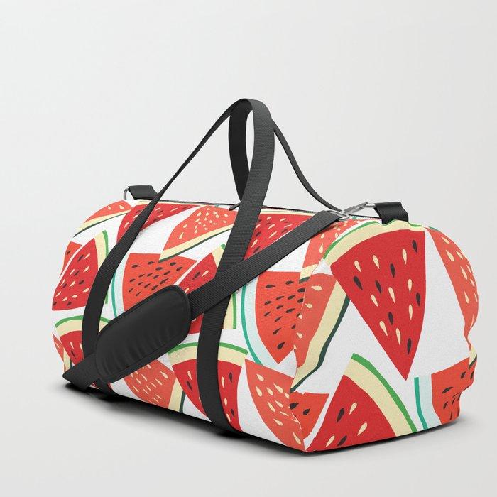 Sliced Watermelon Duffle Bag