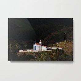 Portuguese chapel Metal Print