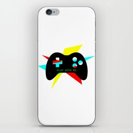 """""""Play With Me"""" iPhone Skin"""