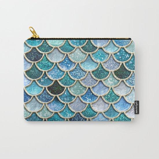 Multicolor Aqua Mermaid Scales - Beautiful Abstract Glitter Pattern by betterhome