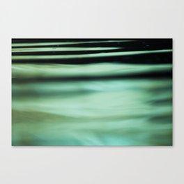 Macro Waves Canvas Print