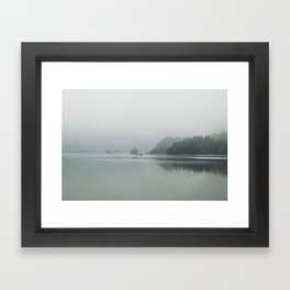 Fog - Landscape Photography Framed Art Print