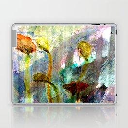 flowers on the field Laptop & iPad Skin