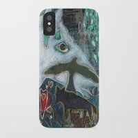 compass iPhone & iPod Cases featuring Compass by Pixie Campbell
