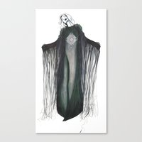 coven Canvas Prints featuring Coven by Fashionista Problems