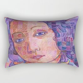 Variations On Botticelli's Venus – No. 2 Rectangular Pillow