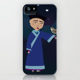 The Gentleman Was Amazed iPhone Case