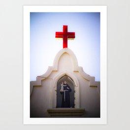 St. Anthony's Church in, Anjuna, Goa, India Art Print