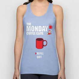 The monday coffee game Unisex Tank Top