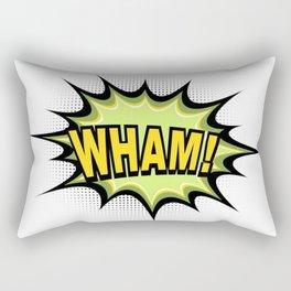 WHAM! Comic Book Rectangular Pillow