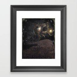 Cosmic Horror Framed Art Print