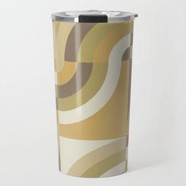 Retro Geometry III Travel Mug