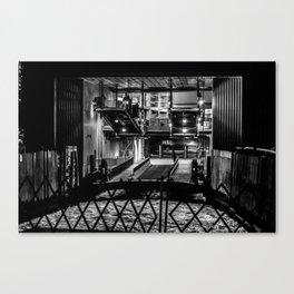The Ferry Slip - Whitehall Canvas Print