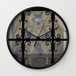 Cloister Detail Wall Clock