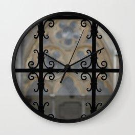 Cloister Detail Wall Clock