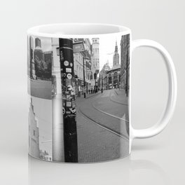 Photo collage of The Hague 1 in black and white Coffee Mug