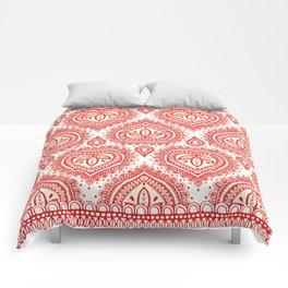 Decorative Red Comforters