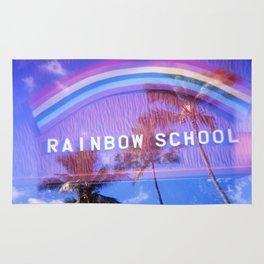 Rainbow School Rug