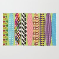 surfing Area & Throw Rugs featuring Surfing? by DesignsByMarly