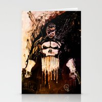 punisher Stationery Cards featuring Punisher by hbCreative