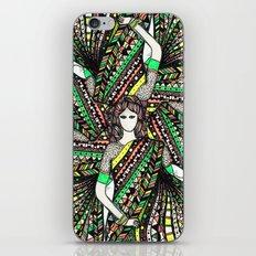 woman with sari mandala iPhone & iPod Skin