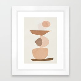 Balancing Elements II Framed Art Print