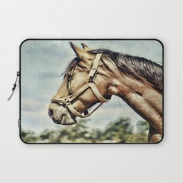 Horse Profile Laptop Sleeve