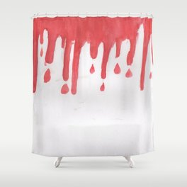 just ketchup Shower Curtain