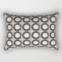 Die DDR Telefon Collage Rectangular Pillow