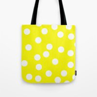cheese Tote Bags featuring Cheese by Lilian May