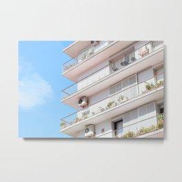Sevilla Apartment Metal Print