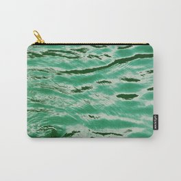 mint petrol blue WATER Carry-All Pouch